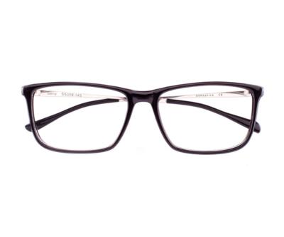 Okulary Garry Black 0014 oprawka oraz najwyższej jakości soczewki STANDARD PLUS