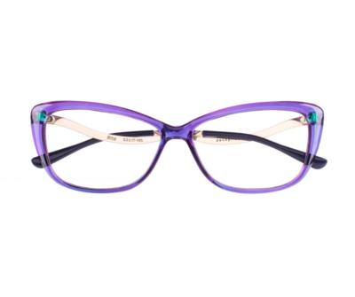 Okulary Rita Purple 1183 oprawka oraz najwyższej jakości soczewki STANDARD PLUS