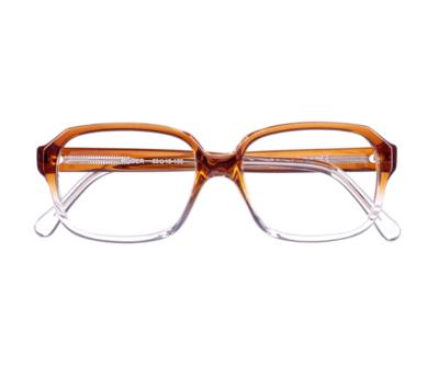 Okulary Roger Transparent Orange 1580 oprawka oraz najwyższej jakości soczewki STANDARD PLUS