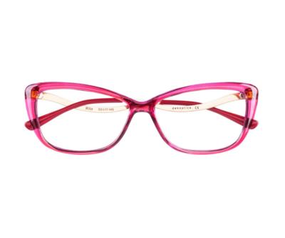 Okulary Rita Pink 2501 oprawka oraz najwyższej jakości soczewki STANDARD PLUS