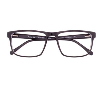Okulary Frame Black 154 134 oprawka oraz najwyższej jakości soczewki STANDARD PLUS