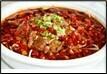 Kryddað nautakjöt með chili & grænmeti