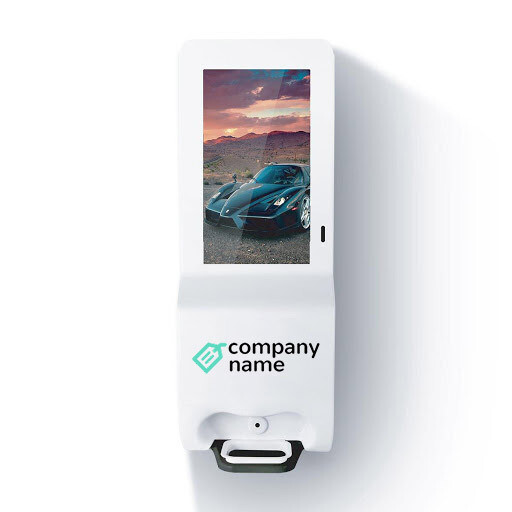 Hand Sanitizer w/ Display - Branded