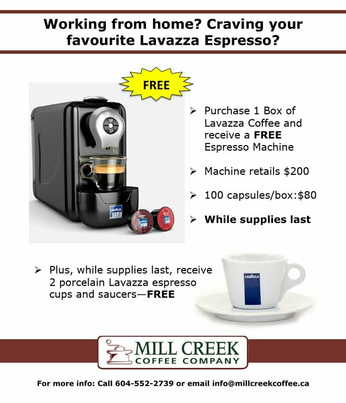 Lavazza package Deal