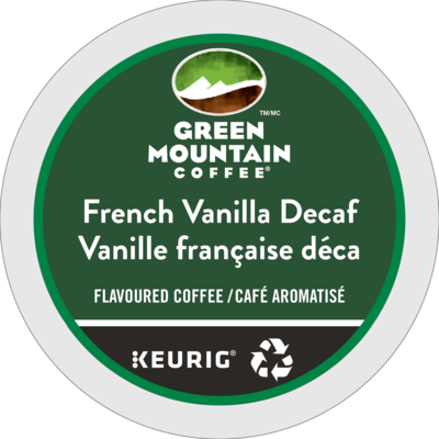 Green Mountain French Vanilla Decaf