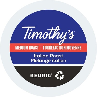 Timothy's Italian Blend Kcup