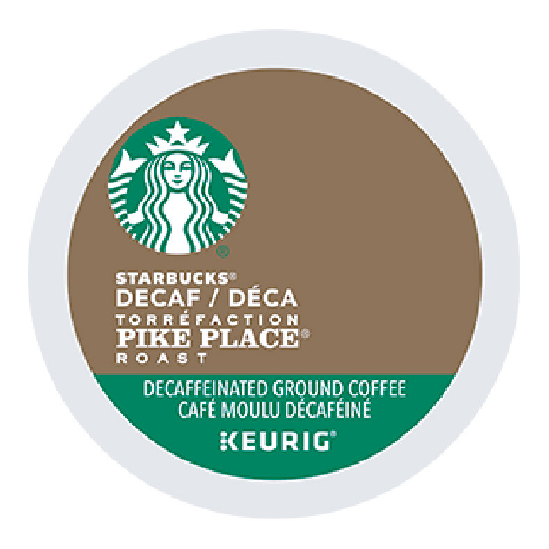 Starbucks Decaf Pike Place