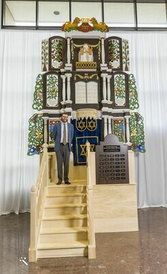The Restored Torah Ark of Sidra Poland