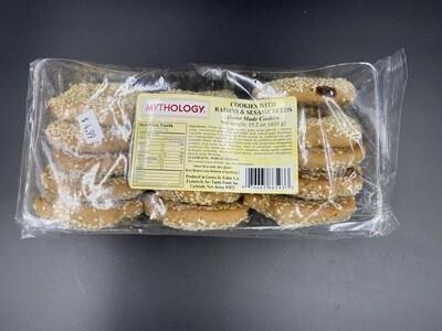 Myhology - Raisin & Sesame Seed Cookies