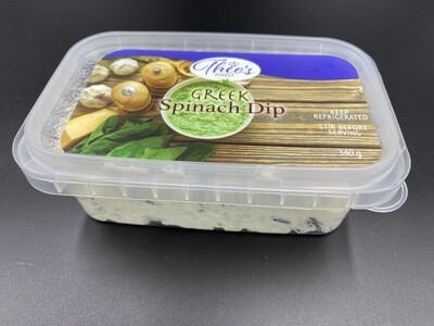 Greek Style Spinach Dip