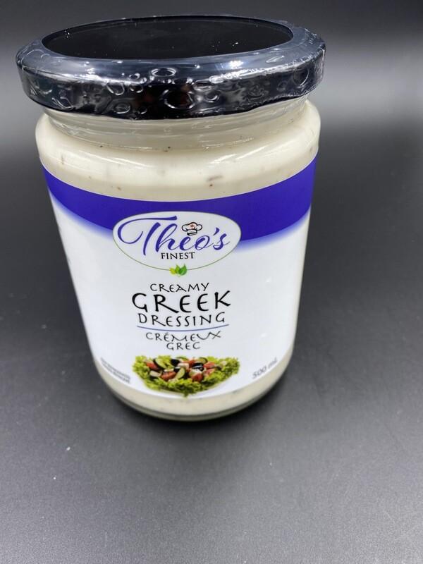 Theo's Finest Creamy Greek Dressing