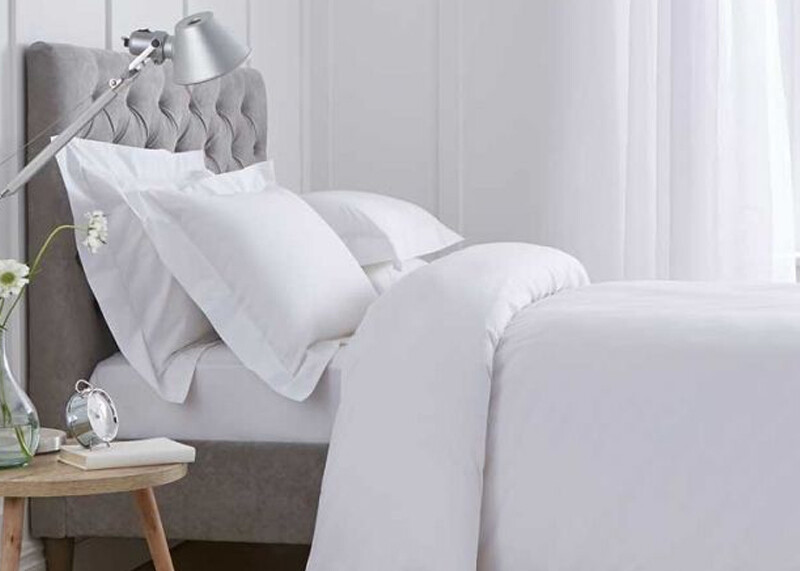 Comforter set for a woman who has experienced domestic violence
