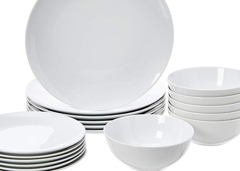 New dinnerware
