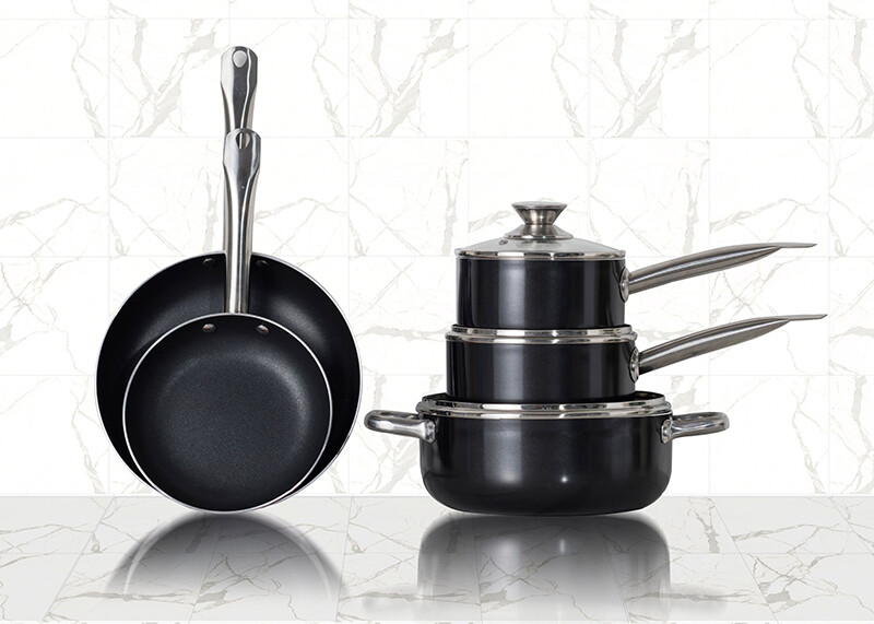 Kitchen tools for a woman who has experienced domestic violence