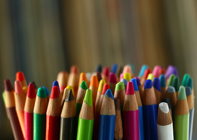Art Supplies for a child with disabilities