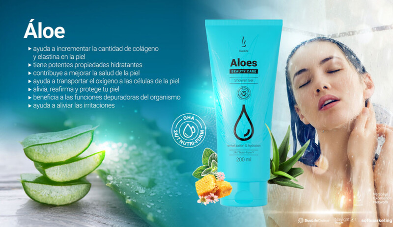 Aloe Gel de Ducha