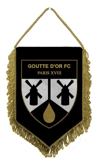 Fanion Goutte d'OR FC