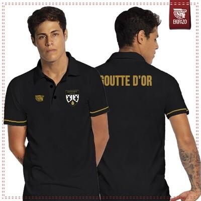Polo 100% coton Goutte d'Or FC