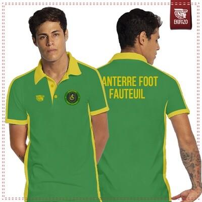 Polo 100% coton Nanterre Foot Fauteuil