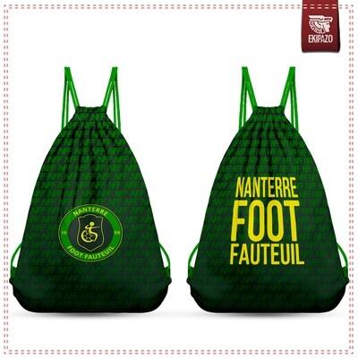 Sac tissu Nanterre Foot Fauteuil