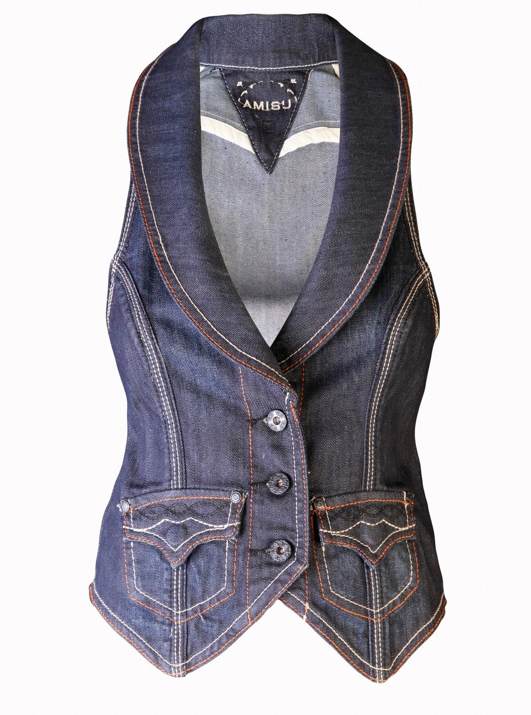 Gilet en jeans