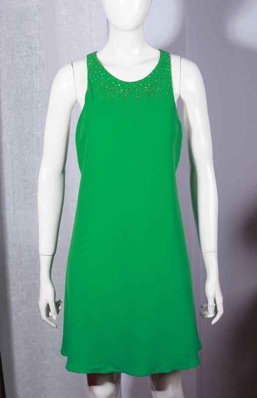 Mini dress by Zara with strass type swarovski
