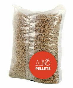 Bolsa con Pellets 18 Kg Albopellets