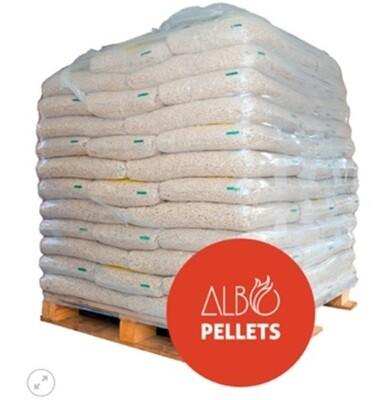 Pack 50 bolsas de 18 kg. Pellets Albopellets 900 Kg