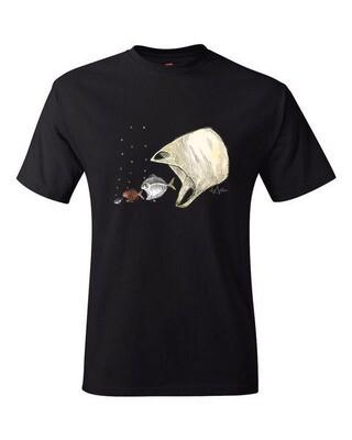 Men's short sleeve t-shirt – black
