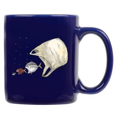 Ocean Ecology Mug – Navy