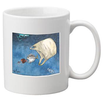 Ocean Ecology Mug – White