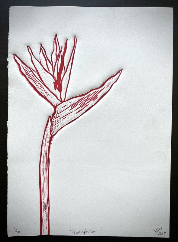 'Flowers for Mum' Bird Of Paradise