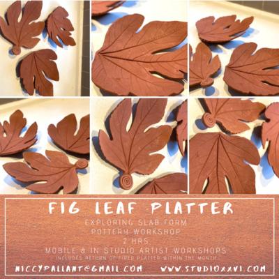 Fig Leaf Platter