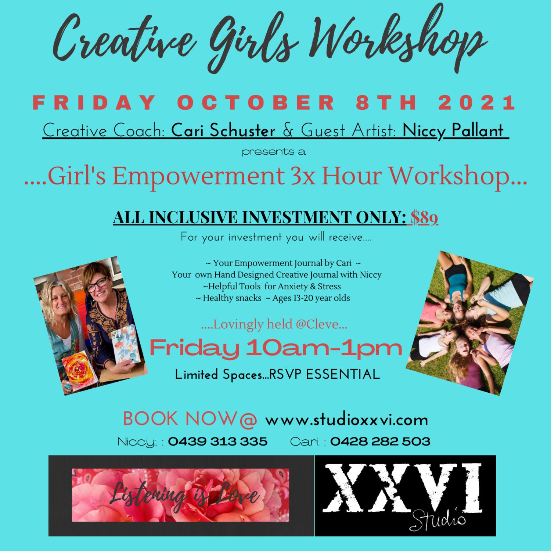Creative Girl's Empowerment Workshop