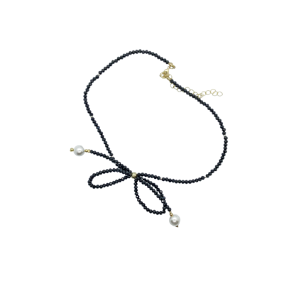 Rossetti bow necklace