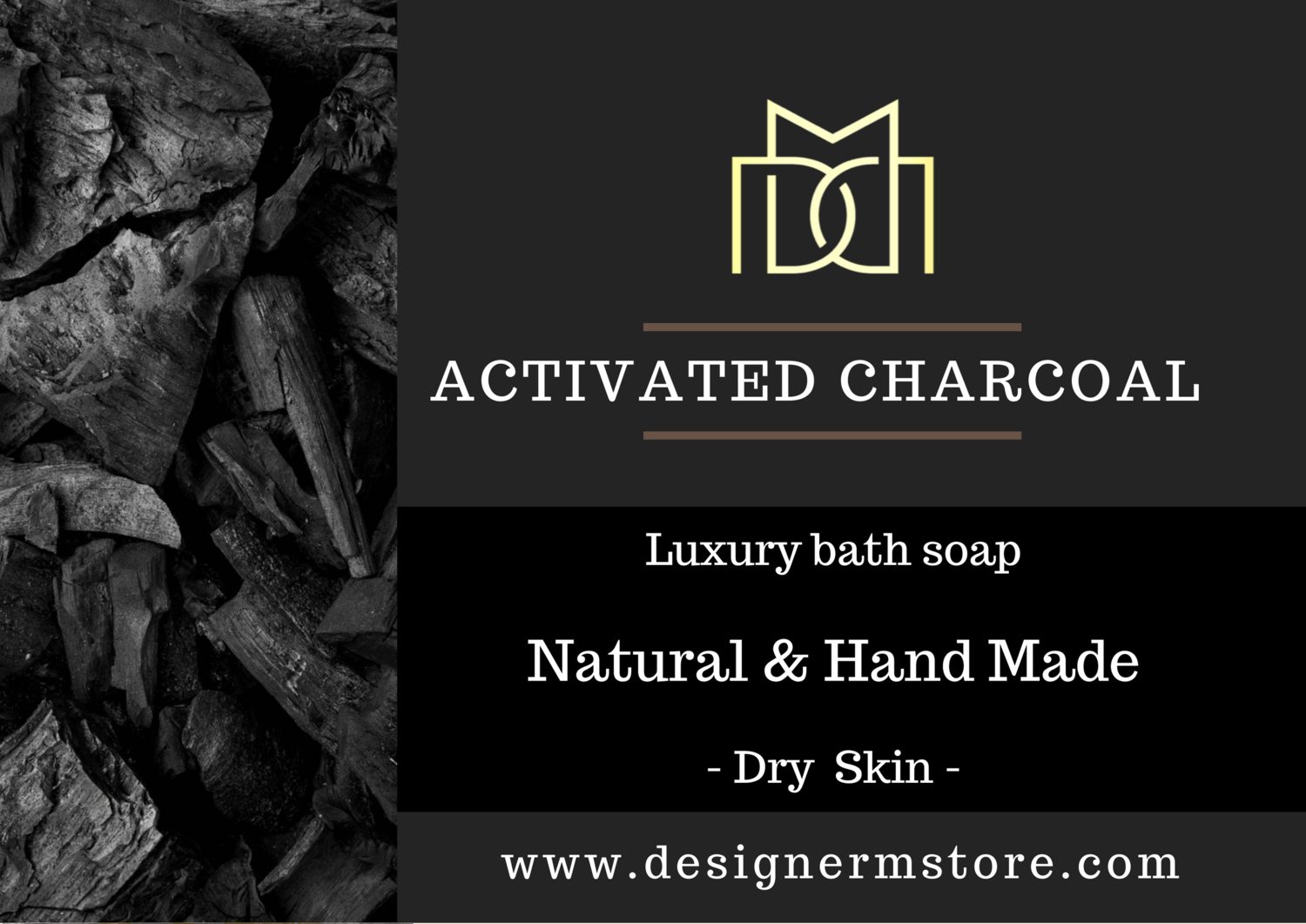 ACTIVATED CHARCOAL SOAP - For Dry Skin