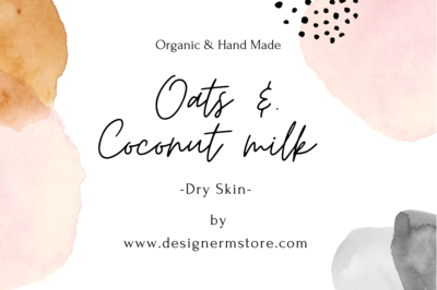 Oats & Coconut Milk Organic Soap - For Dry Skin