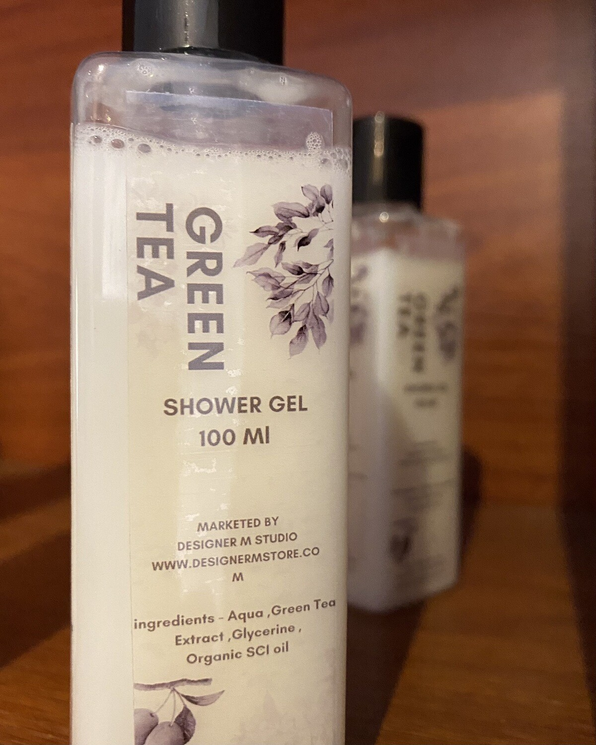 Green Tea Organic Shower Gel -100 Ml