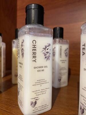 Cherry Organic Shower Gel - (100 Ml)