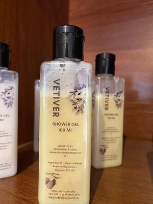 Vetiver Organic Shower Gel -100 Ml