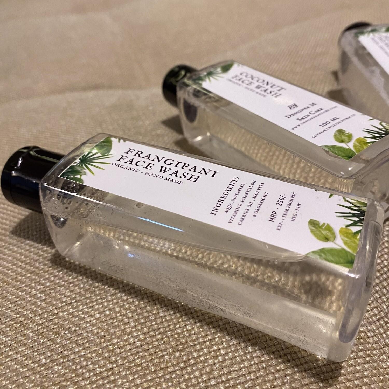 Frangipani Organic Face Wash -100ml