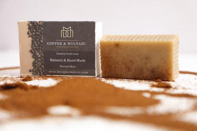 Coffee & Multani Mitti Organic Soap - Normal Skin