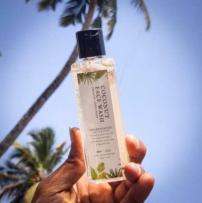 Coconut Organic face Wash - 100ml