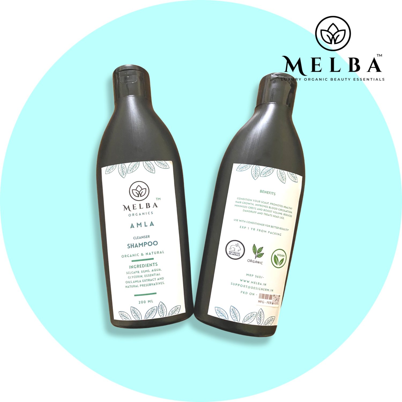 Amla Organic Hair Shampoo (200ml)