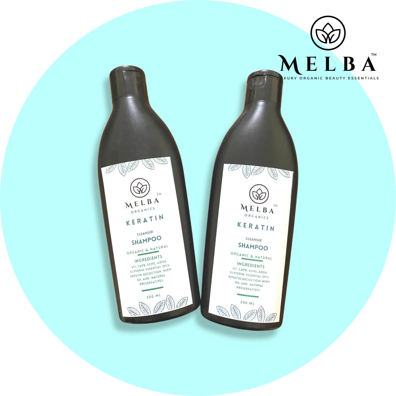 Keratin Organic Hair Shampoo (200ml)