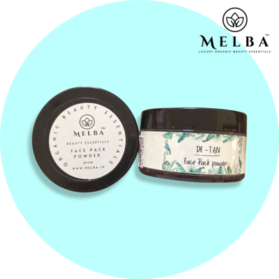 DE'Tan - Face Pack powder (50gm)