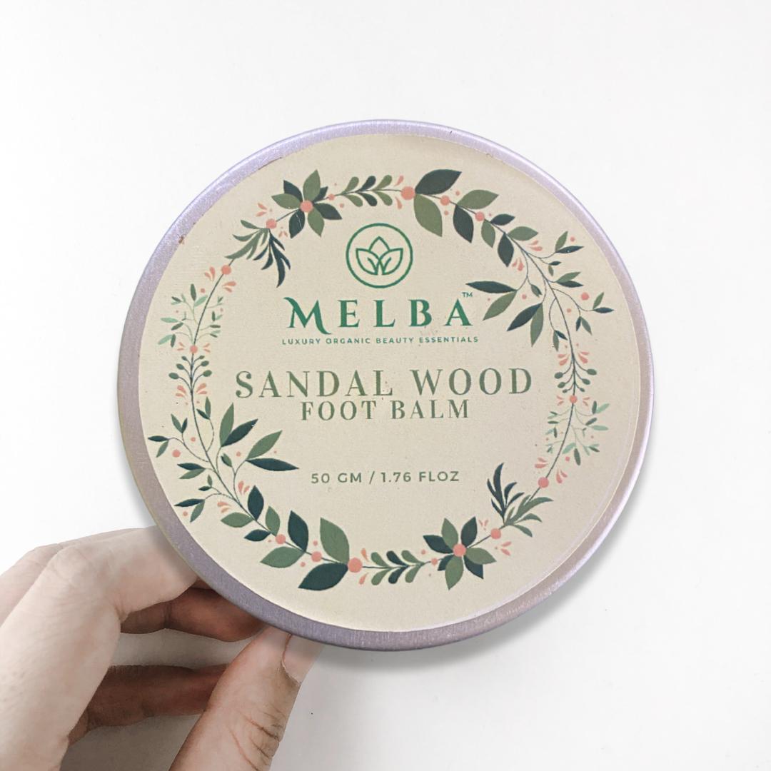Sandal Wood Foot Balm (50 Gm)