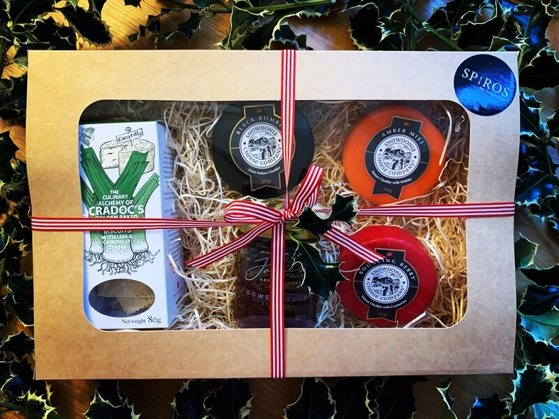 Welsh Cheese Gift Box