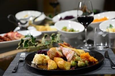 Luxury Christmas Day Dinner