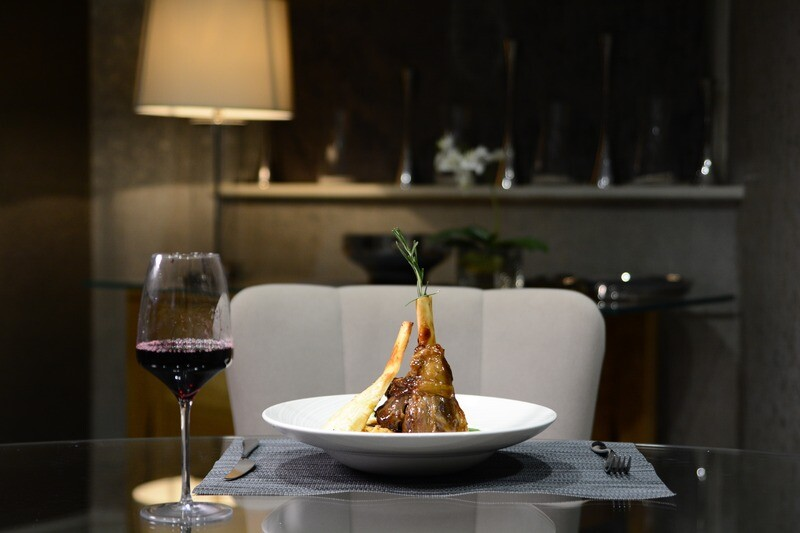 Braised Lamb Shank Meal For 2